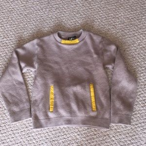Burton snowboard original wool sweater vintage